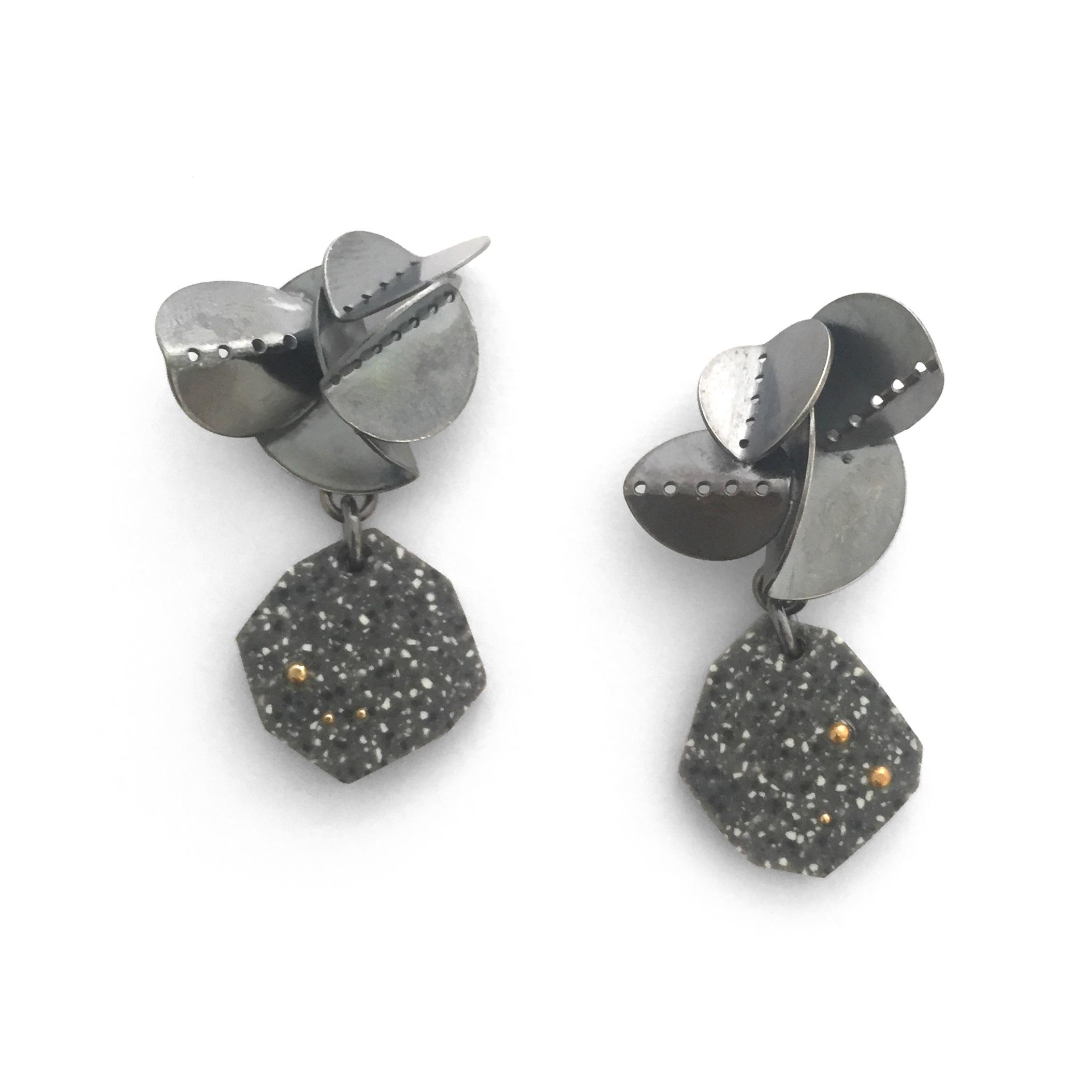 Cluster Corian Earrings