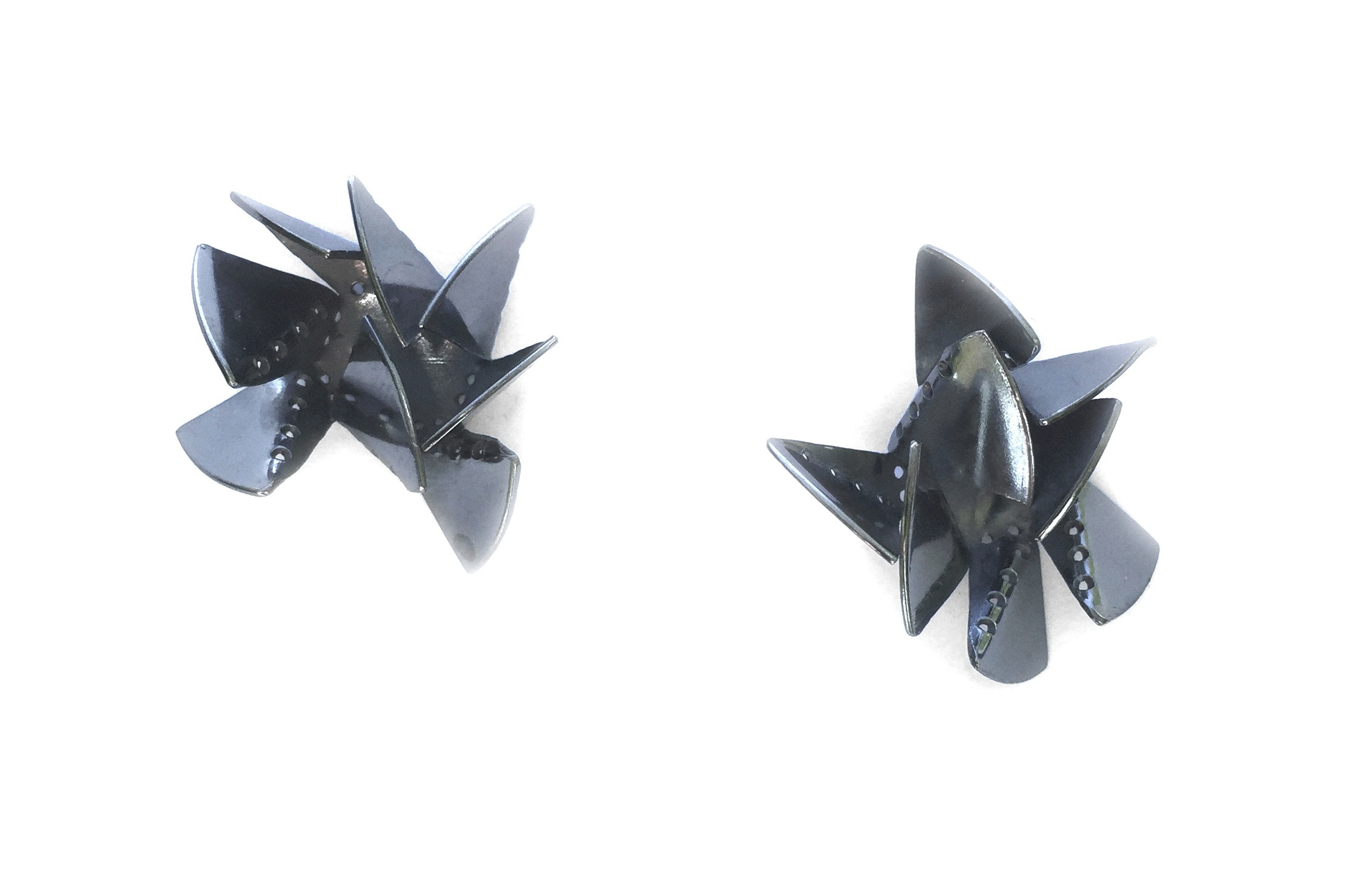 Folded Up and Over Earrings