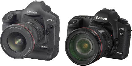 Canon 1d mark III en Ccanon 5d mark II