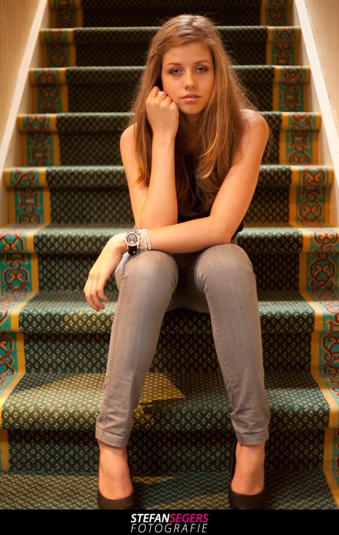 Model Sue Ann in Hotel Johannes Vermeer