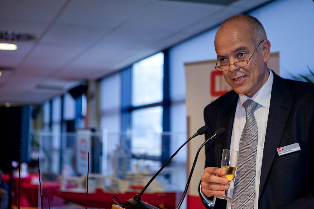 toespraak van de directeur van IHC Merwede