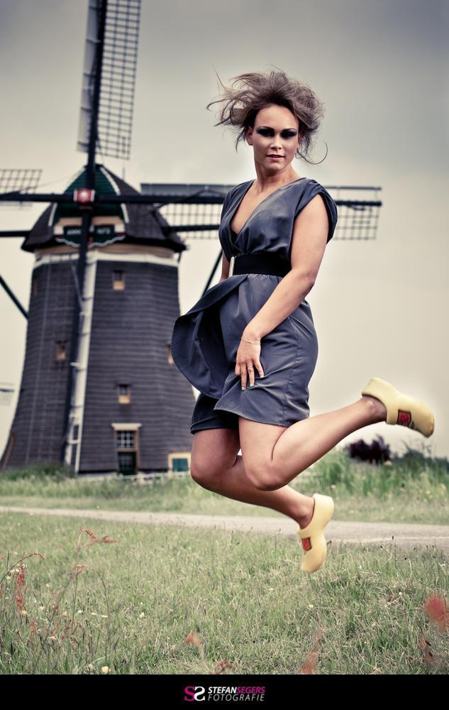 windmill shoot with Lisanne
