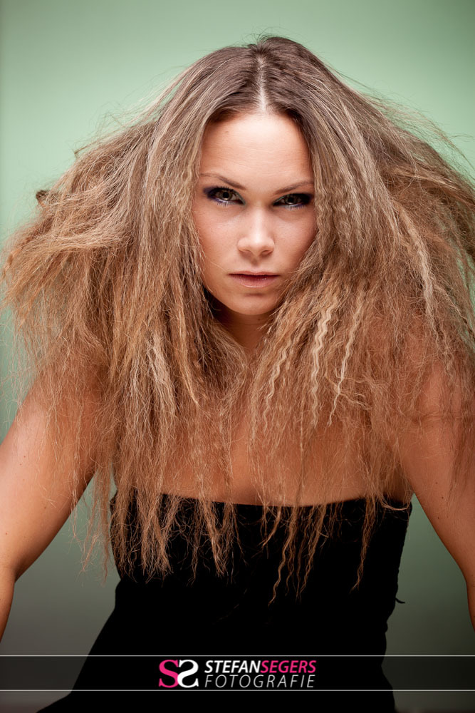 Model: Lisanne - MUA: Judith van der Zwet