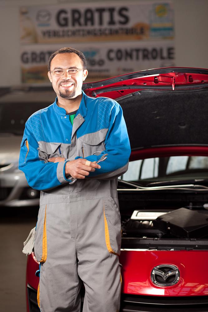 Mulder Mazda monteur