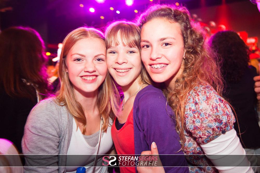 feest publiek in Ahoy Rotterdam, Dance 4 Life evenement