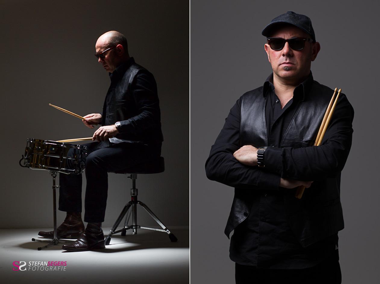 drummer Beppe Quiroli