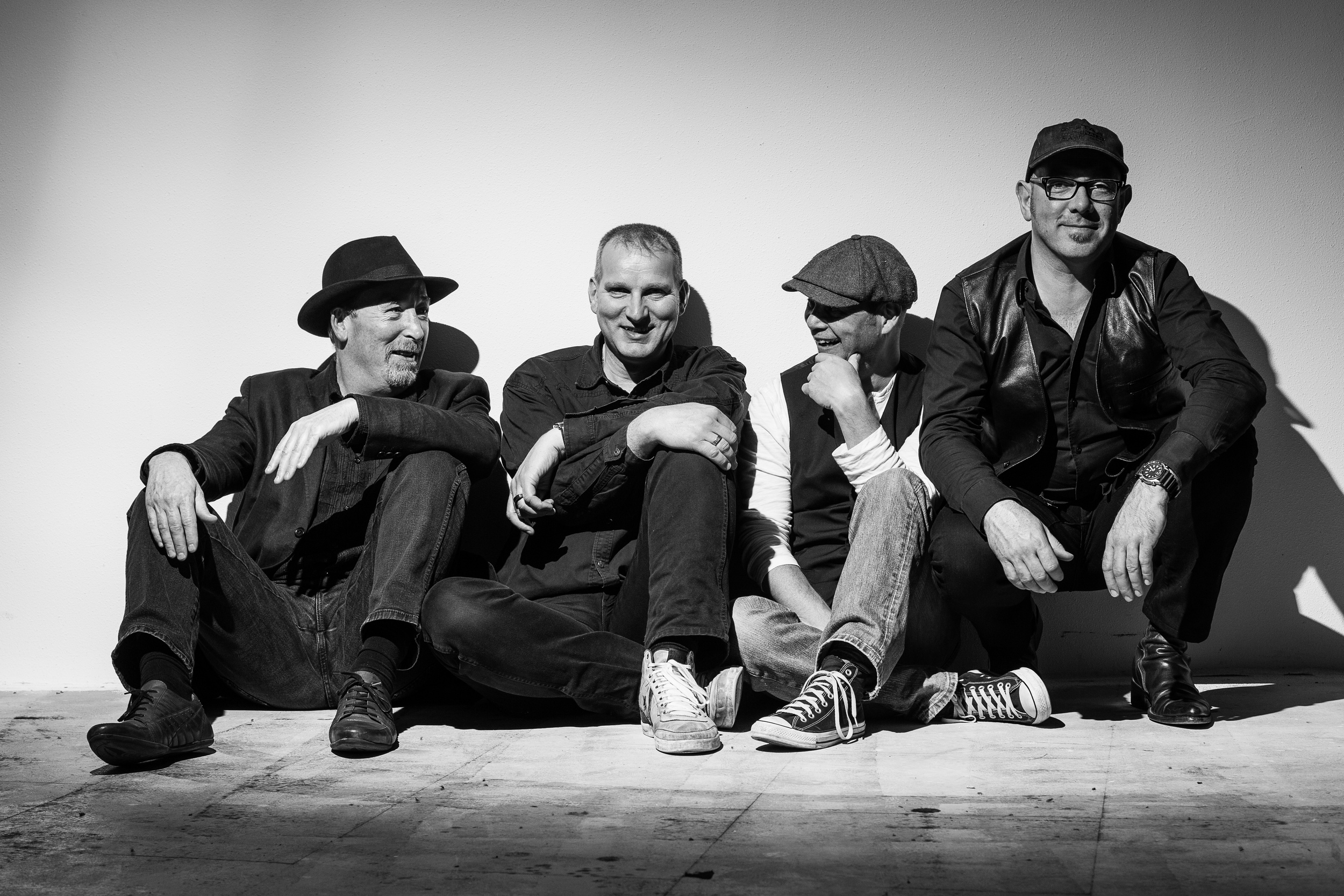 Band fotografie Bluestond Blues groep 1