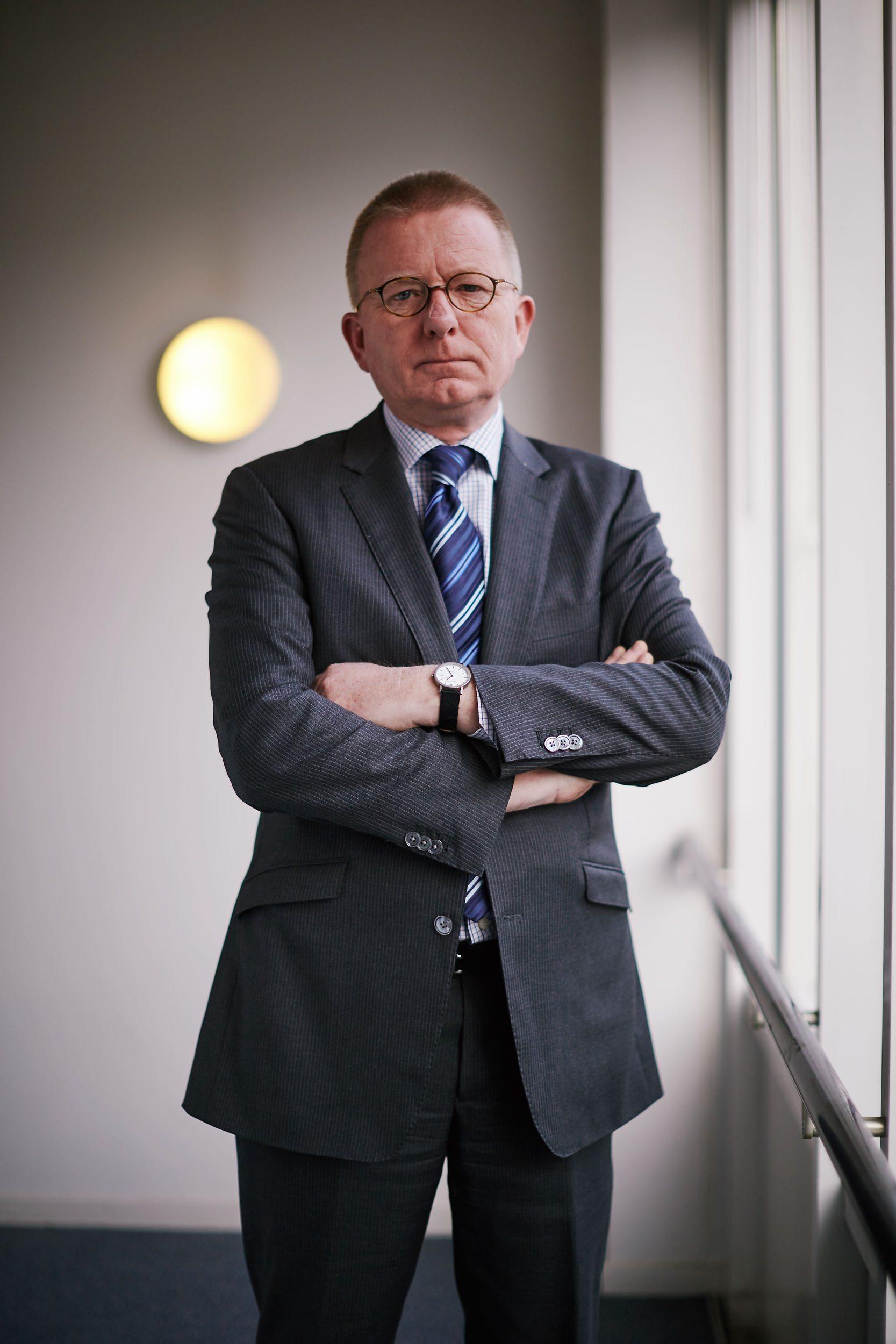 portret advocaat Gerhard Janssen