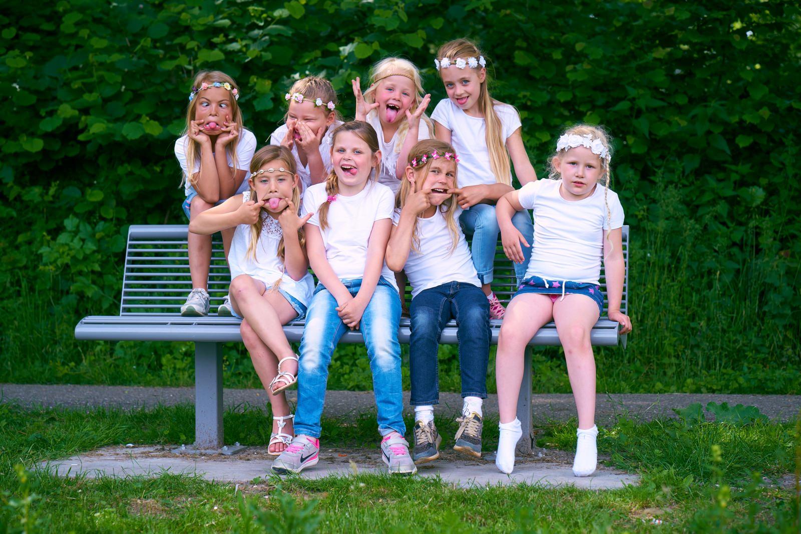 foto feestje in het Westerpark