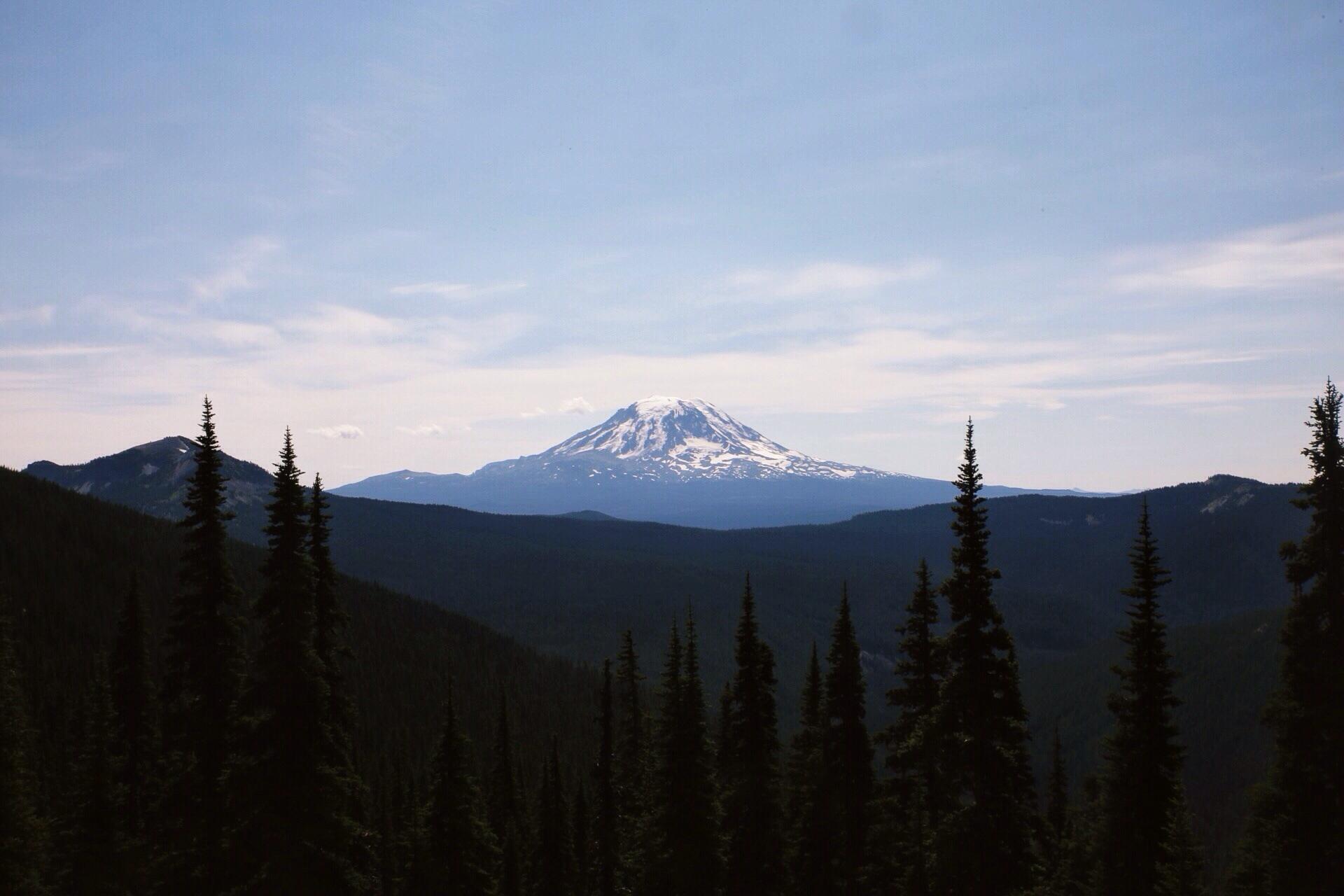 Mile 2272. Mt. Adams