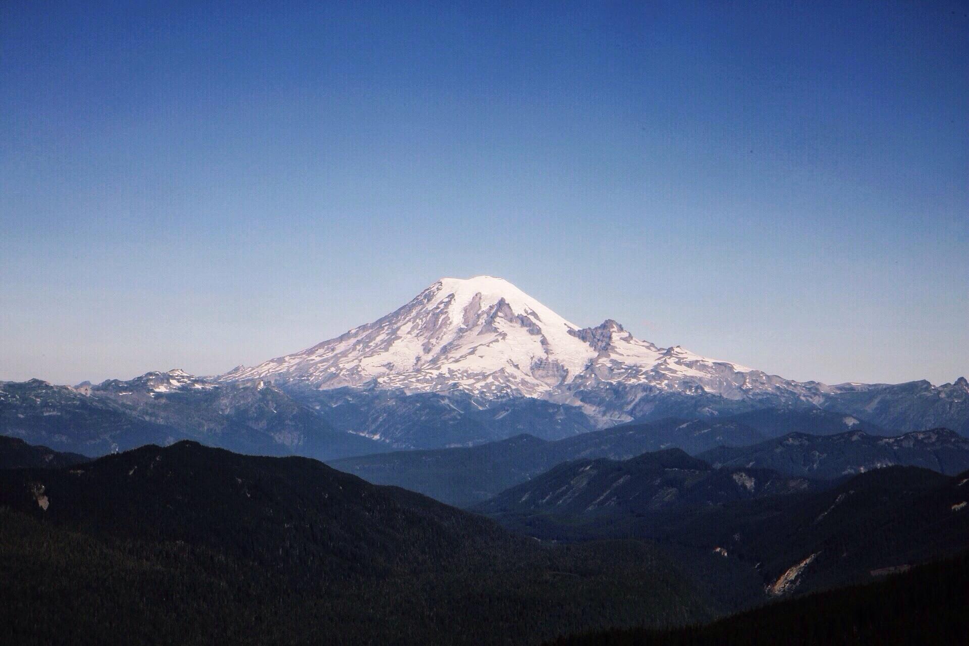 Mile 2297. Mt. Rainier