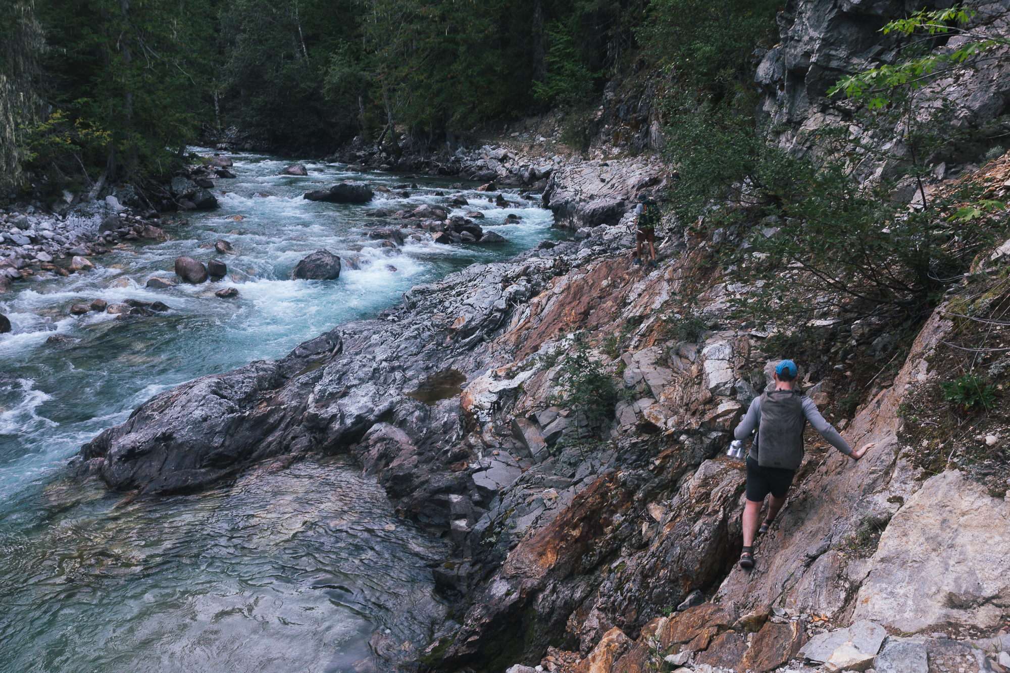 """traversing the """"impassable"""" trail with Trip, Mongo and co."""