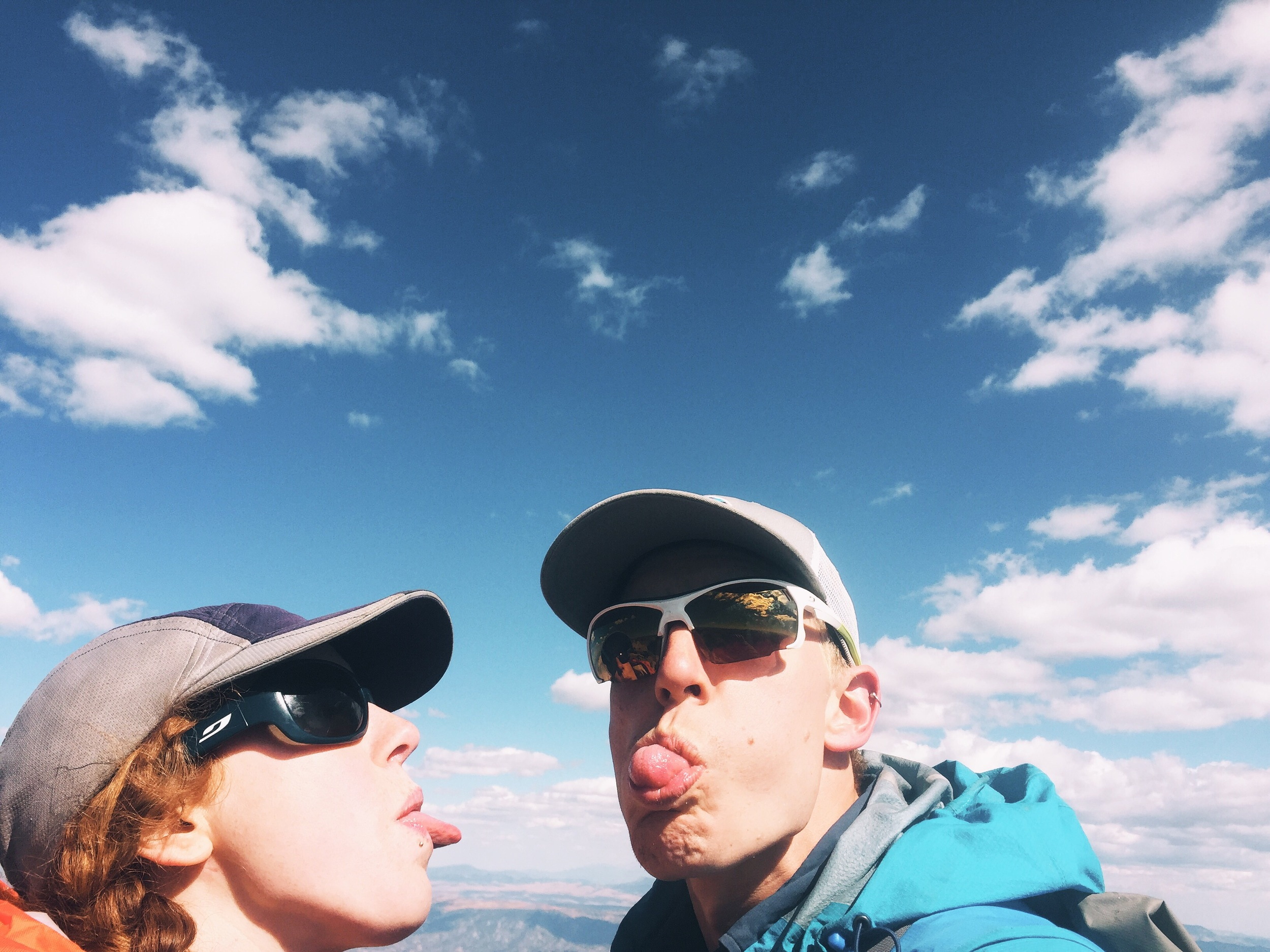 Things got a little silly on the Summit of Shavano