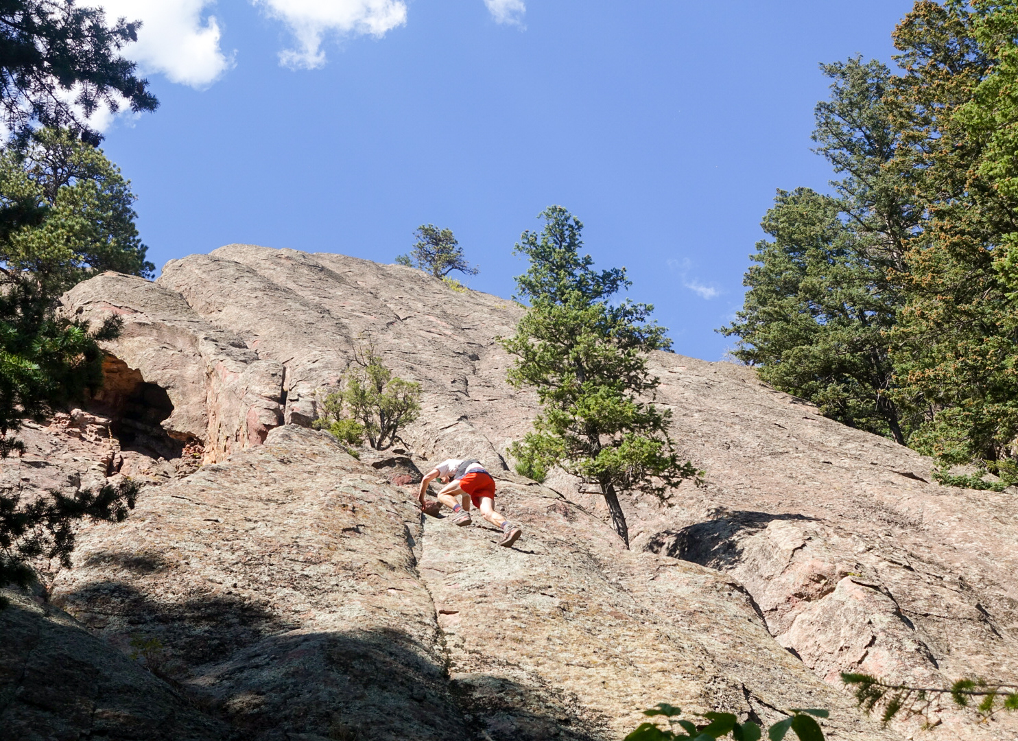 East Face of the Fourth Flatiron. Route 8 of 14.  Photo: Molly