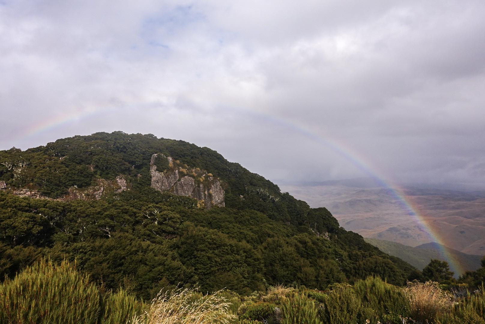 A rainbow before the storm  photo/ Jonathan