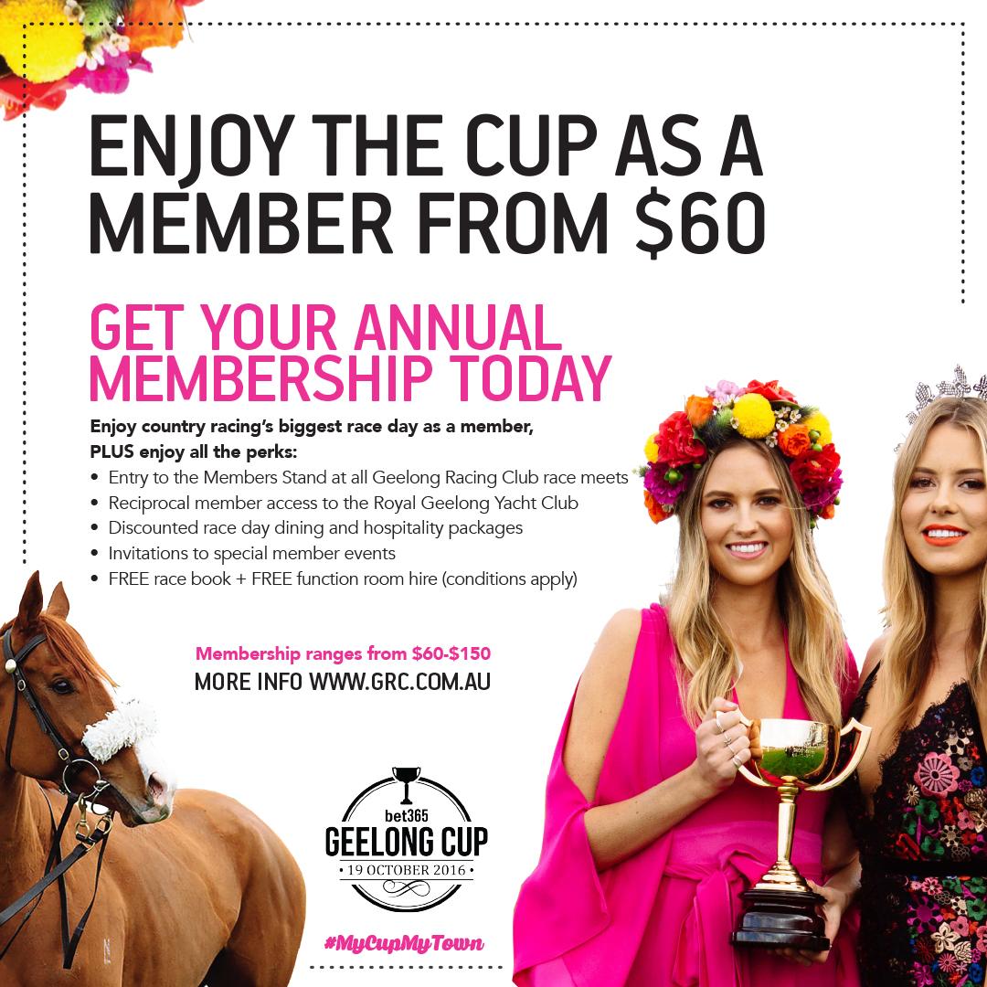 Geelong Racing Club Membership