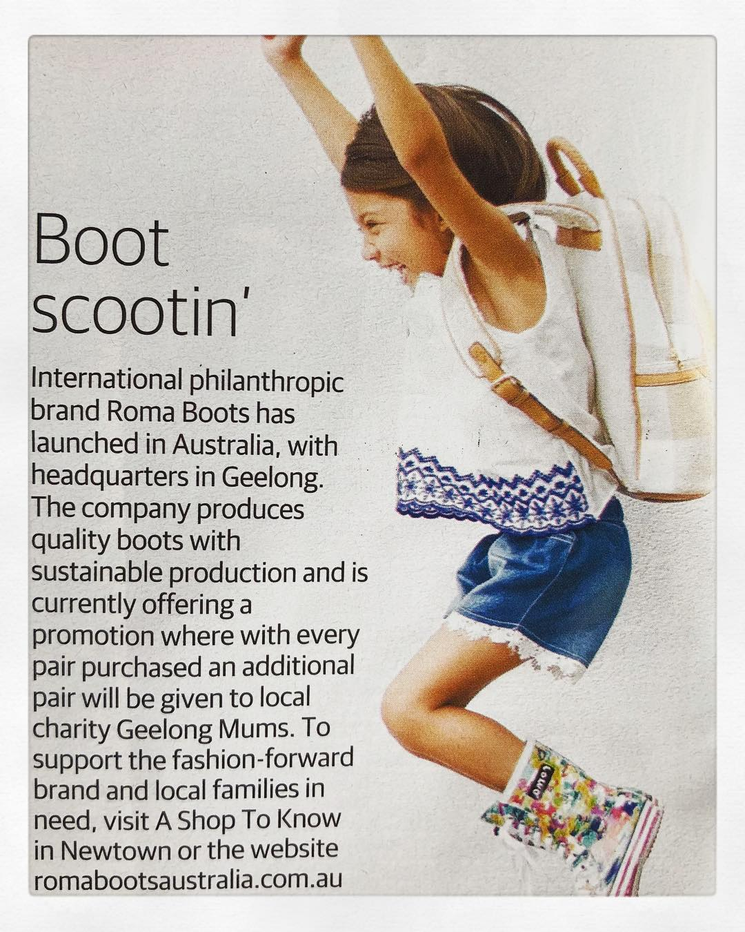 Roma Boots Geelong Advertiser Passionfolk.jpg