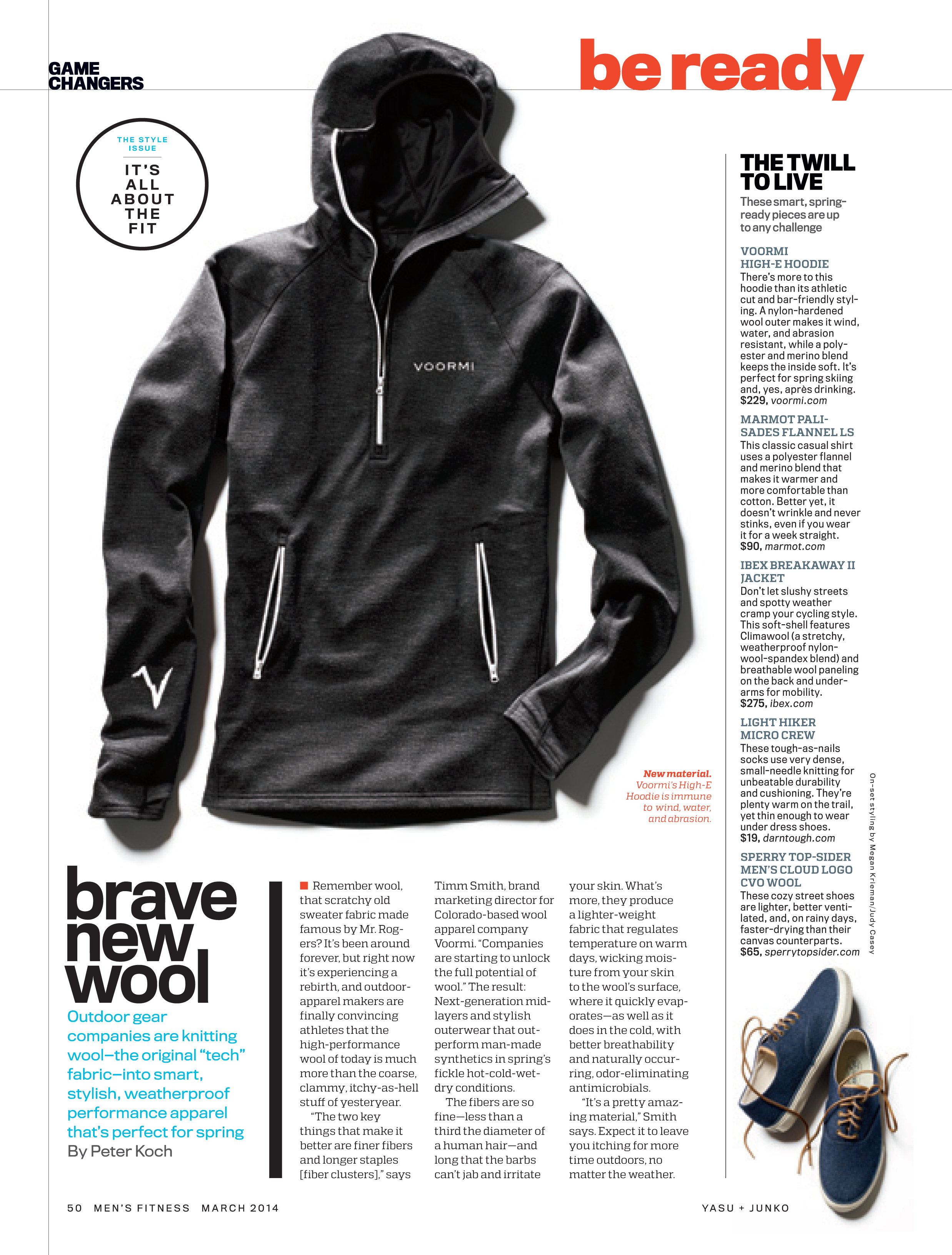 Men's Fitness, March 2014