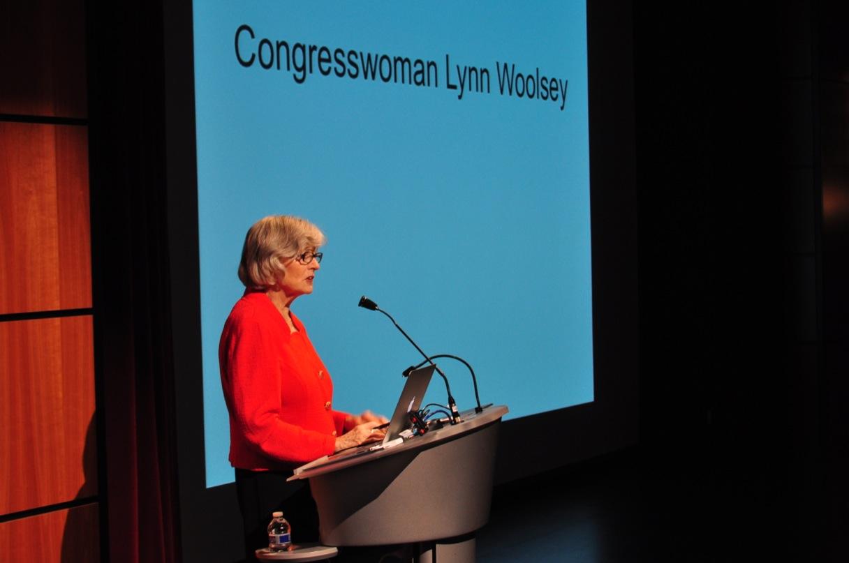 Congresswoman Lynn Woolsey