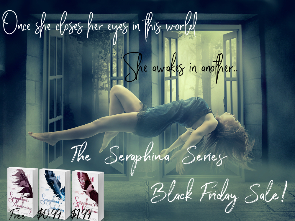 The Seraphina Series will of course be on sale too! Don't forget to check that out!