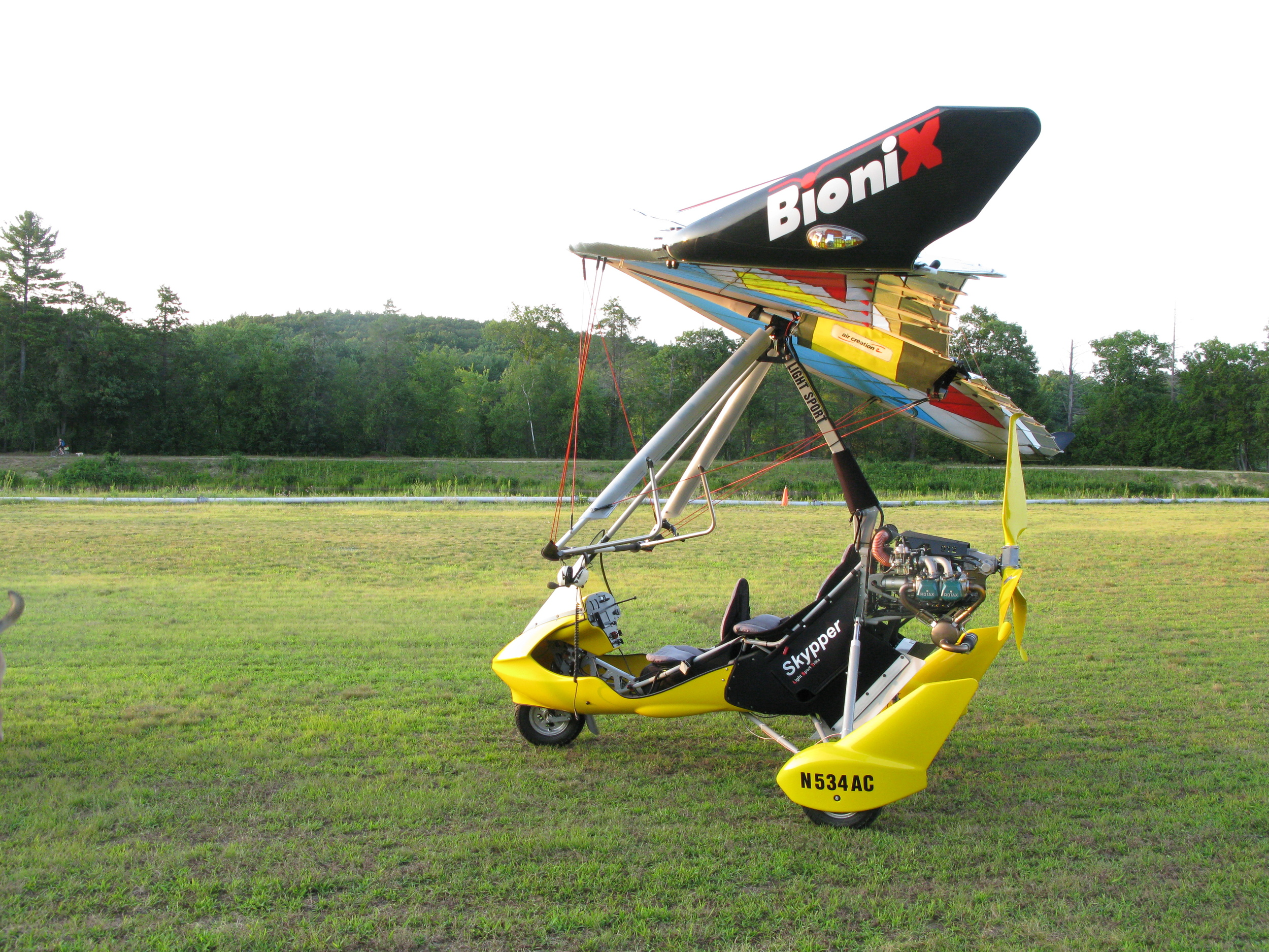 Fly our new 2014 Air Creation Skypper