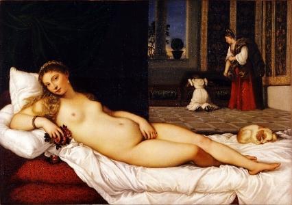 Titian,Venus of Urbino c. 1538