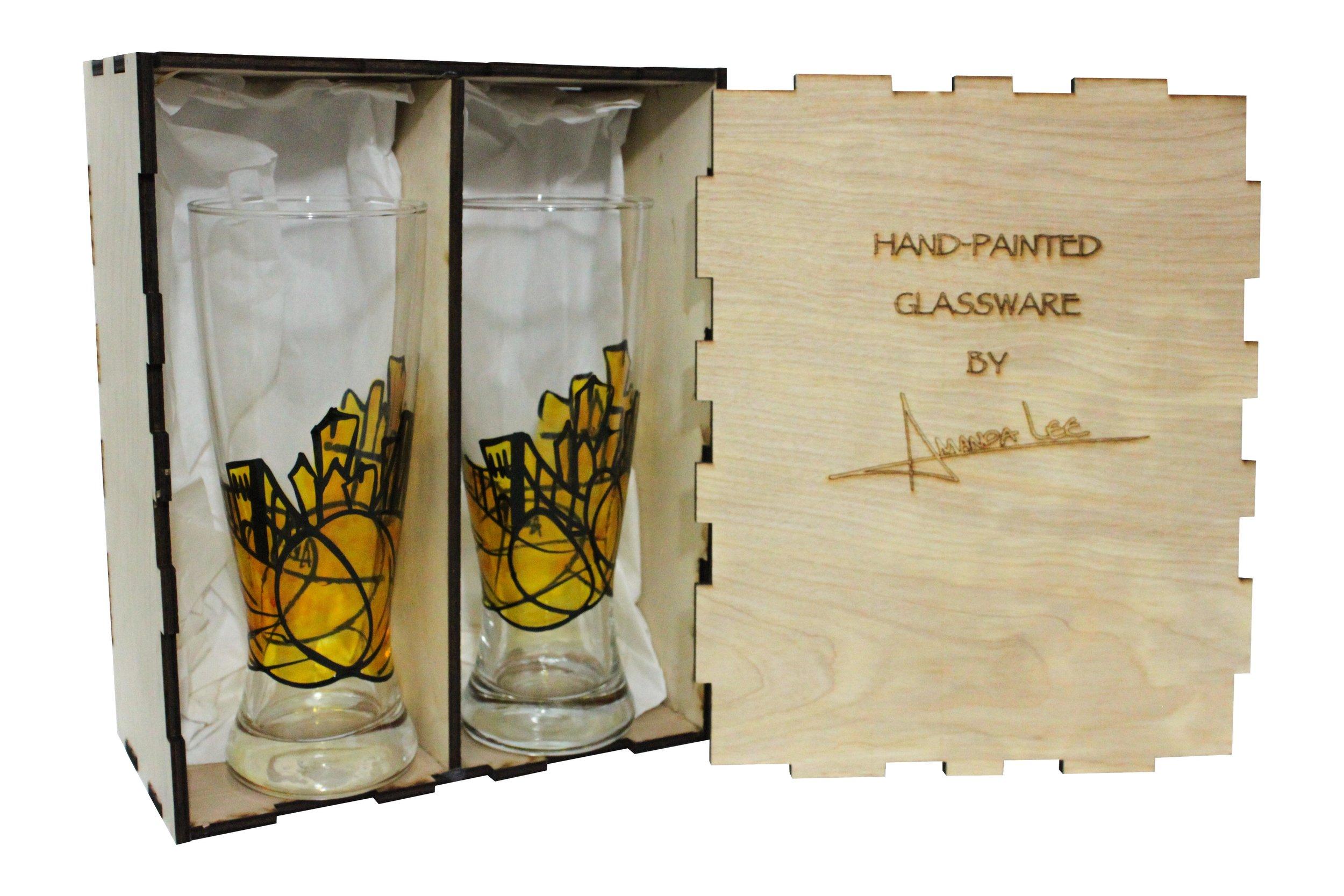 pittsburgh glasses pittsburgh gifts pittsburgh beer glasses.jpg