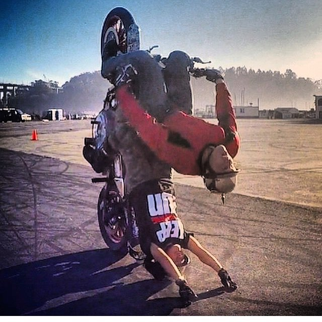 #WheelieWednesday gos  out to my best friend my partner in crime and soon-to-be wife @angrockz your incredible I am so in love with you please don't ever change monkeykisses!!!!!