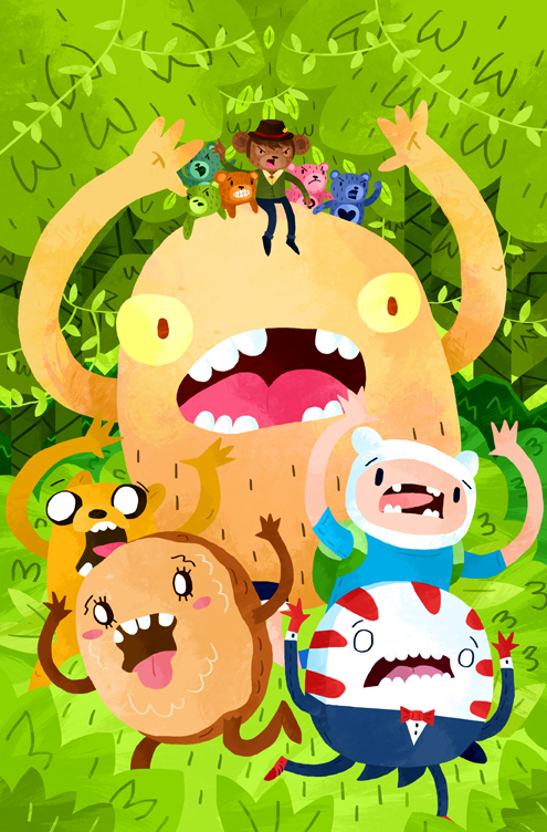 Adventure Time Candy Capers #1 Cover
