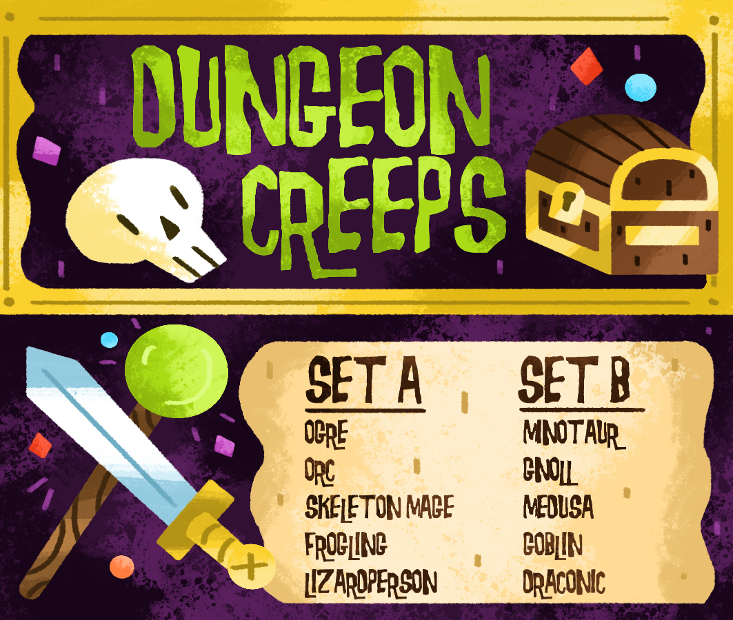 Dungeon Creeps
