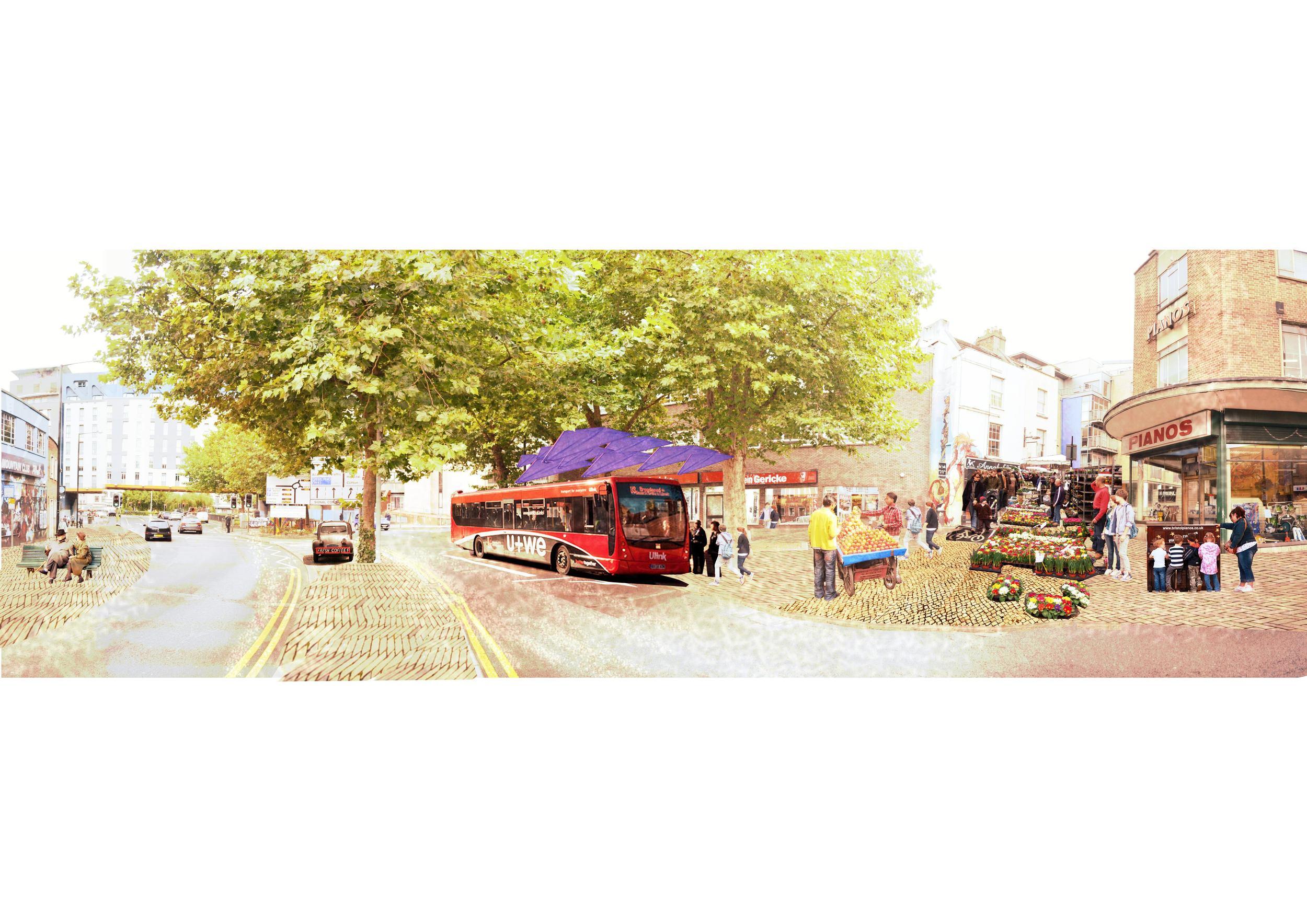 Stokes Croft streetscape