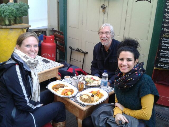 Lunch at St Nick's Market