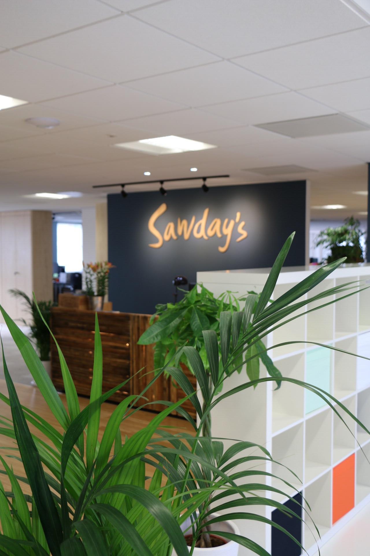 Sawdays reception area