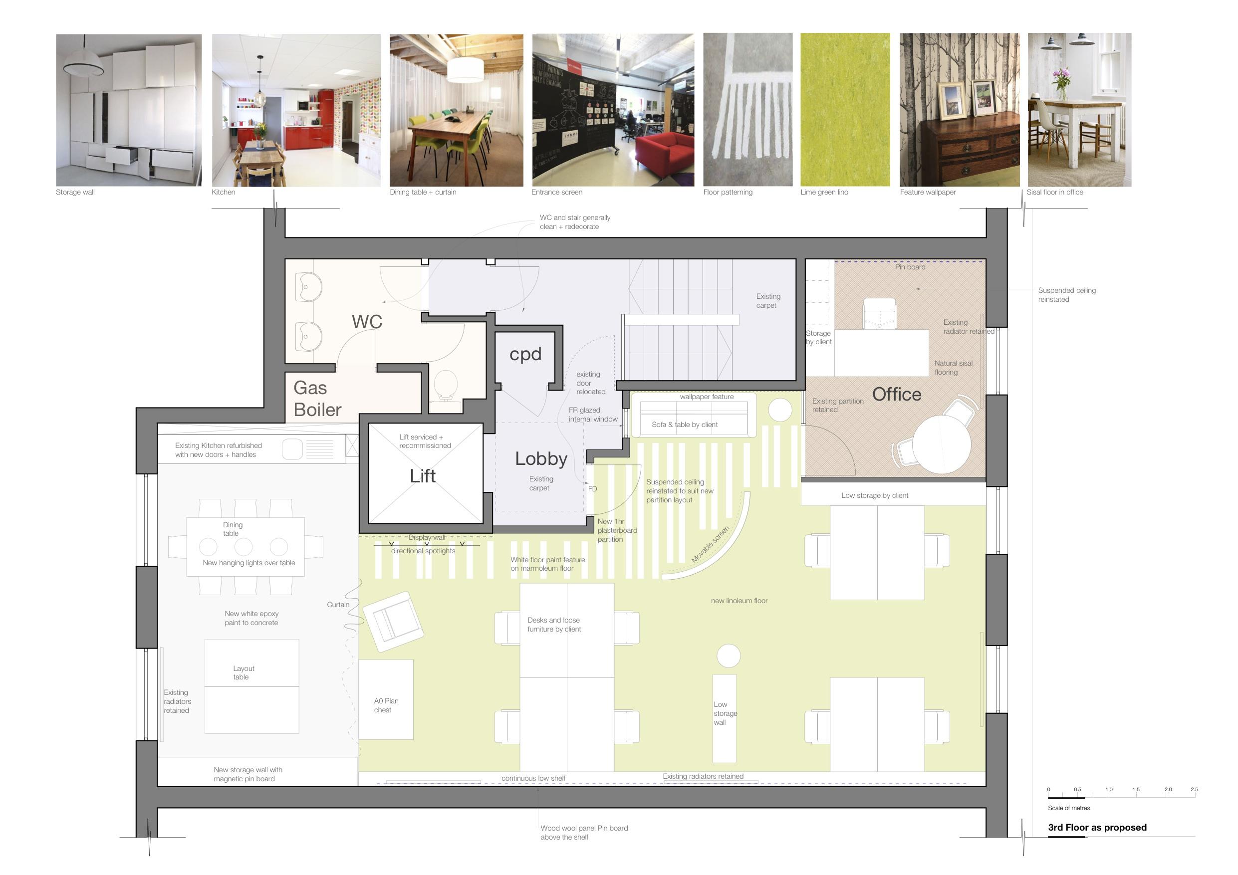 Design of workspace for Willis Newson in Upper York Street, Bristol