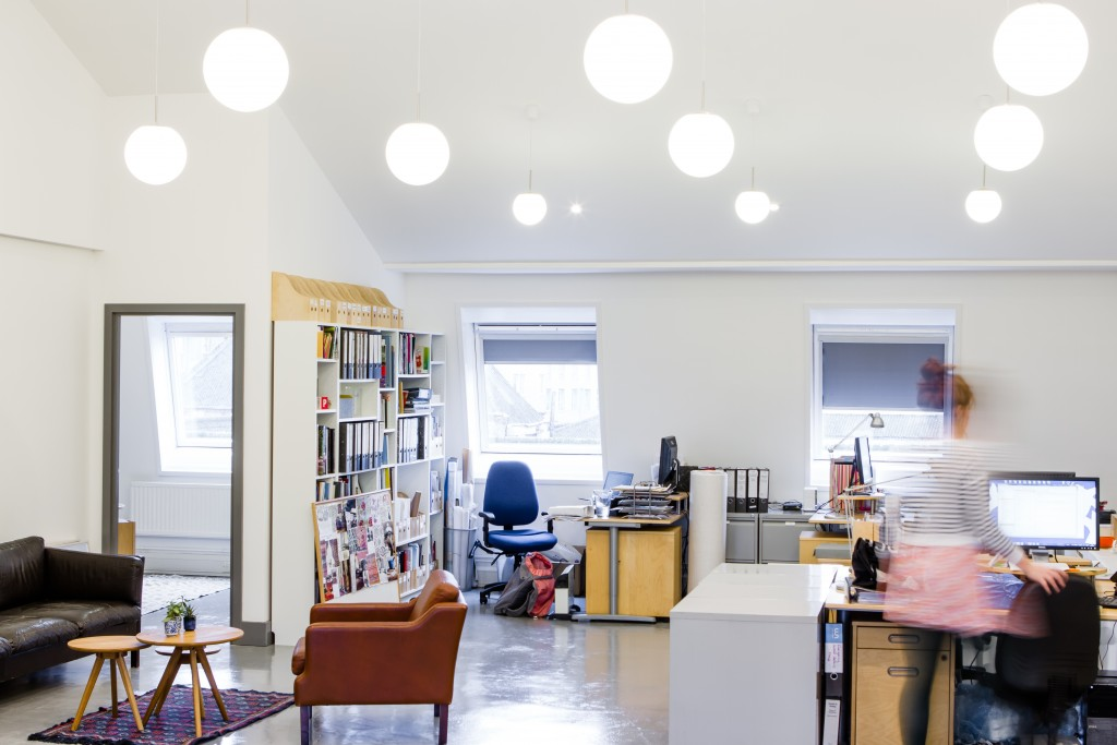 Utility House workspace fit out