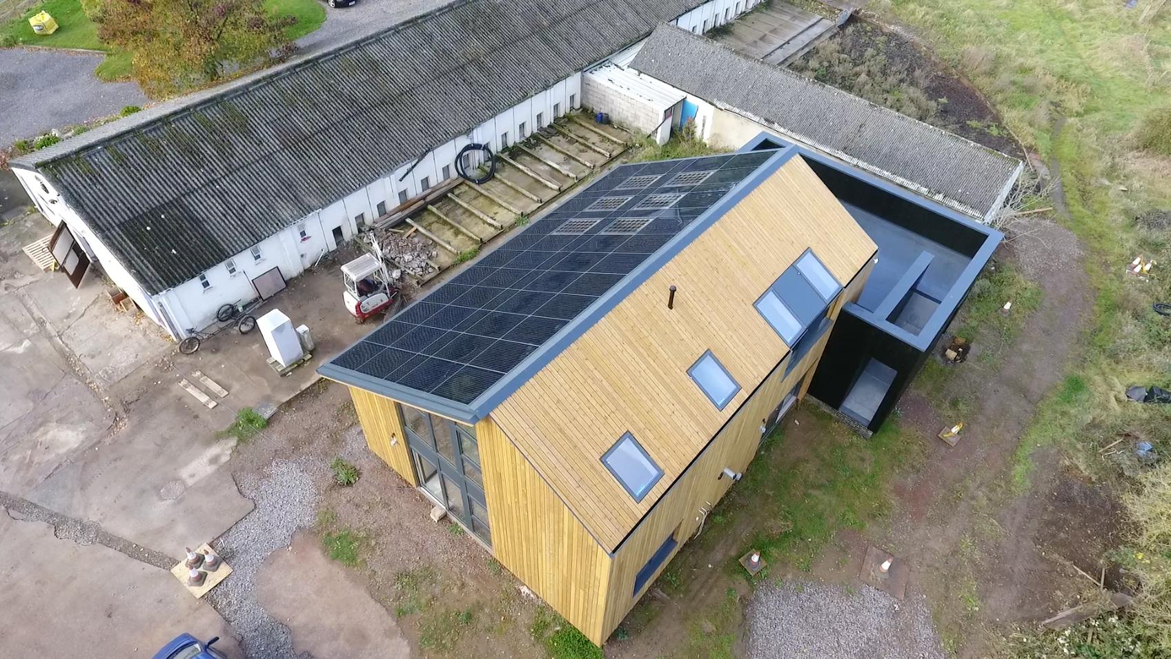 Solarsense aerial view