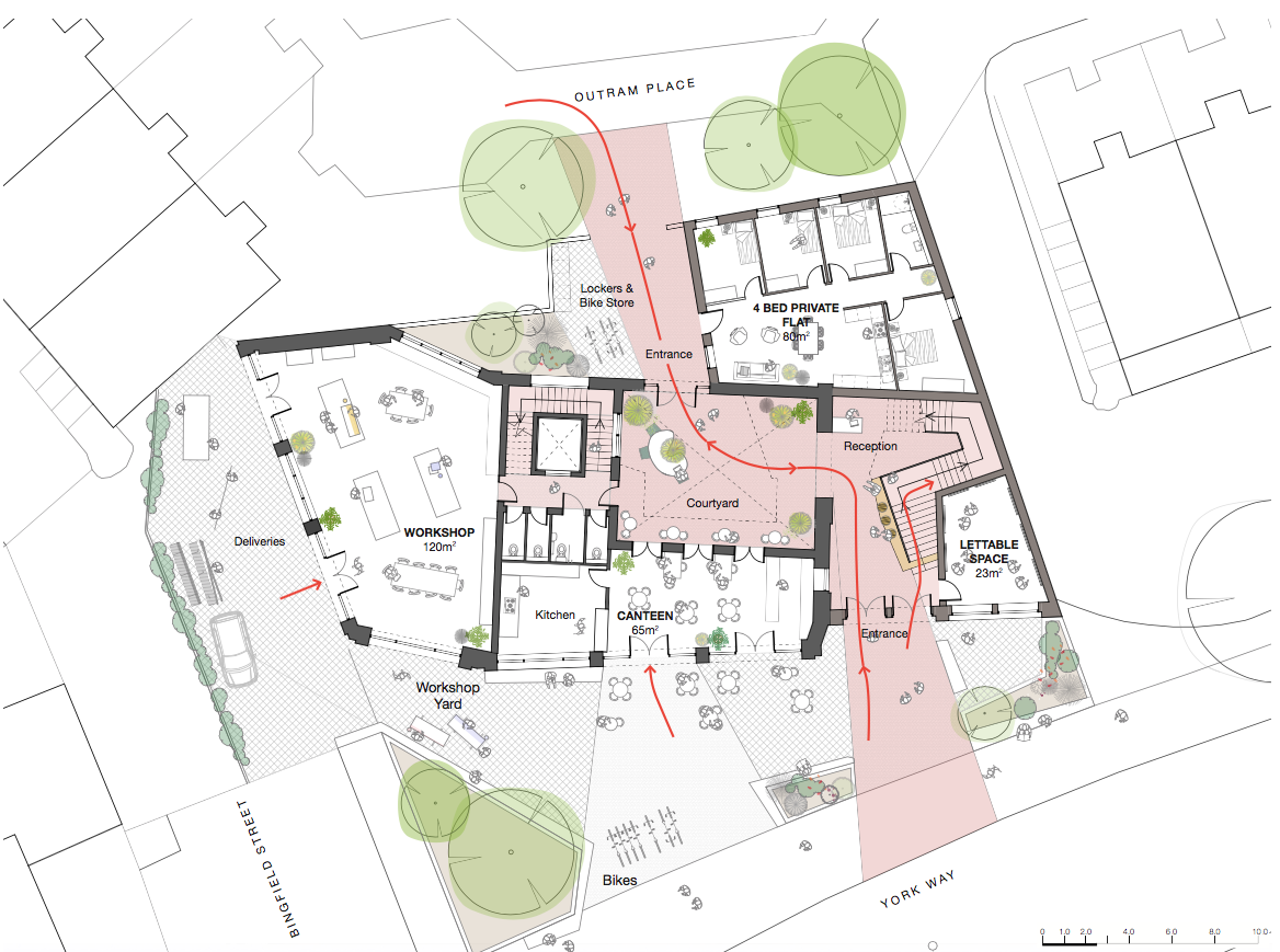 Site / Ground Floor Plan