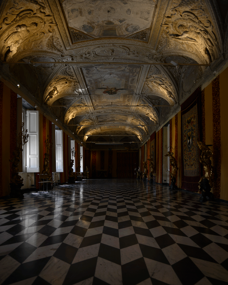 'Palace Interior' © Naida Ginnane 2012 Nikon D800, 24-70mm lens f/2.8, 1/30, ISO200 +0.33  This image was shot without a tripod, however I used a faster ISO to cpature the soft light