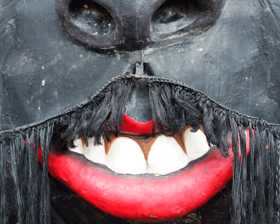 'Moustache' © Naida Ginnane 2014 Nikon D800 85mm lens,1/125, f/2.2, ISO 100. Obviously this image resembles a part of a face, however, since there is lots of missing information, it raises questions in the viewer's mind.