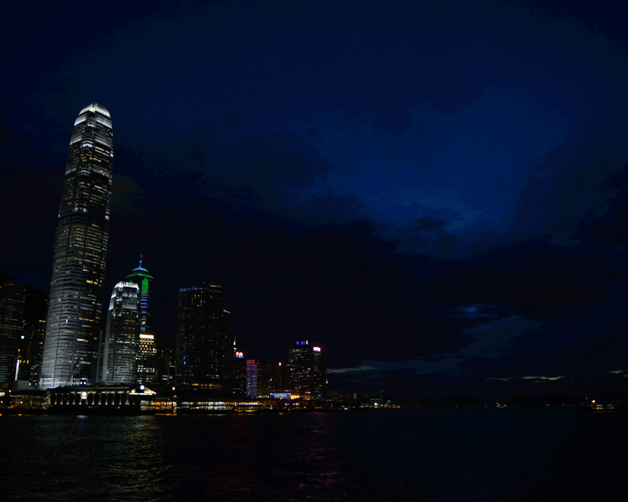 'Blue City' © Naida Ginnane 2015 Nikon D800 24-70mm lens, 1/30, f/9.0, ISO 400.