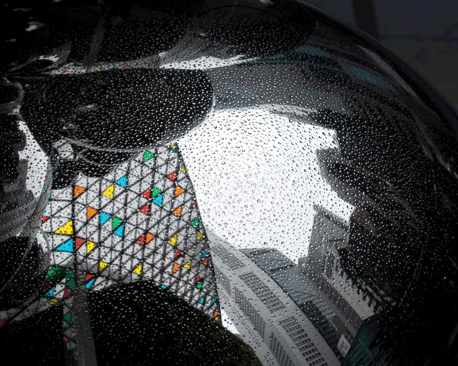 'Sphere City' © Naida Ginnane 2017 Nikon D800 24-70mm lens, 1/100, f/9.0, ISO 100.