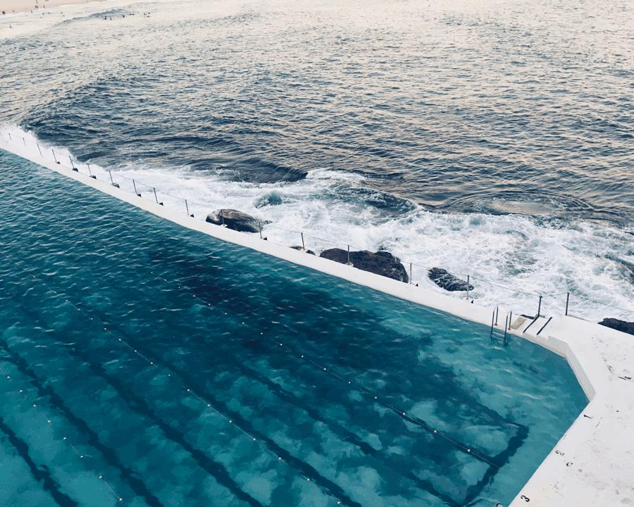 'Into the Blue' © Naida Ginnane 2018 iPhone X 1/200, f/9, ISO 100.