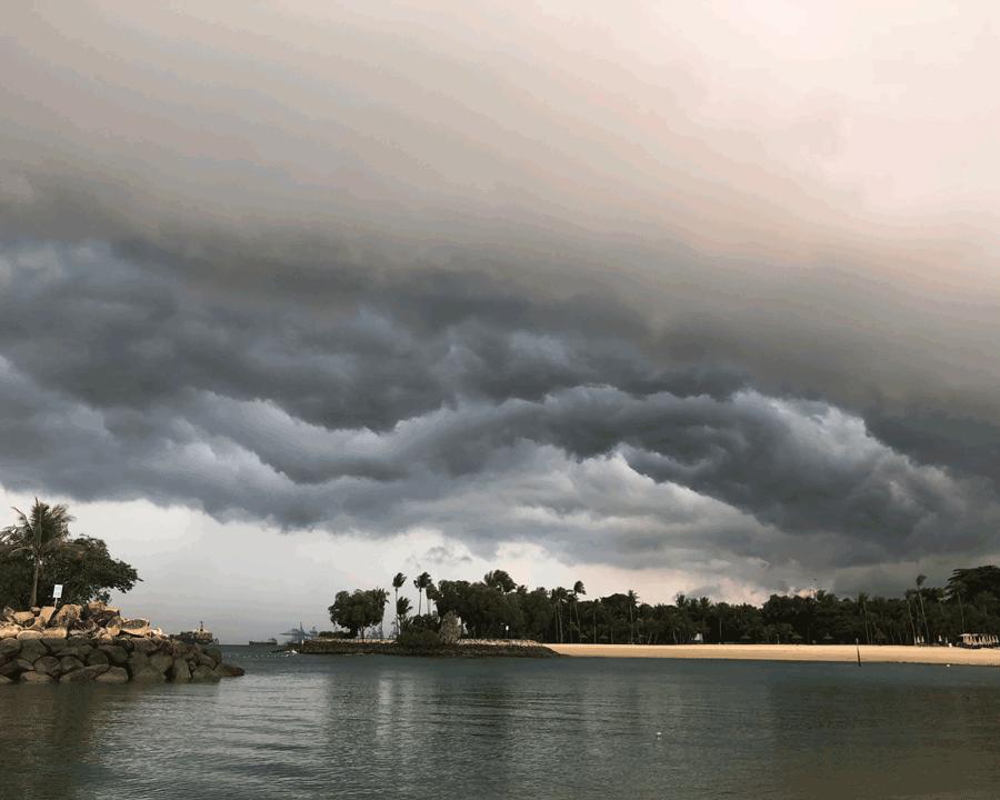 'Wet Sky' © Naida Ginnane 2018 iPhone X 1/125, f/5.0, ISO 100.