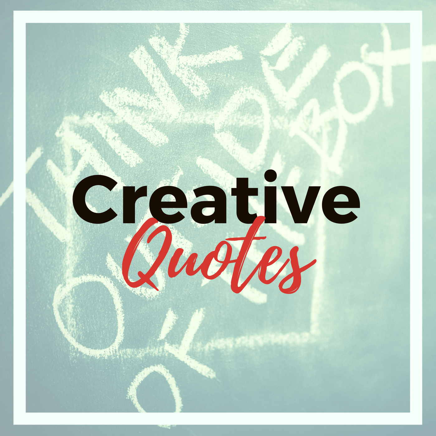 Take a look at my collection of inspirational quotes that I use to keep me feeling creative. Click the image.