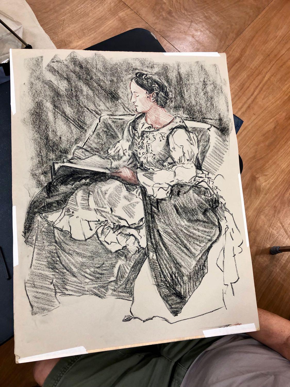 Bodin drawing