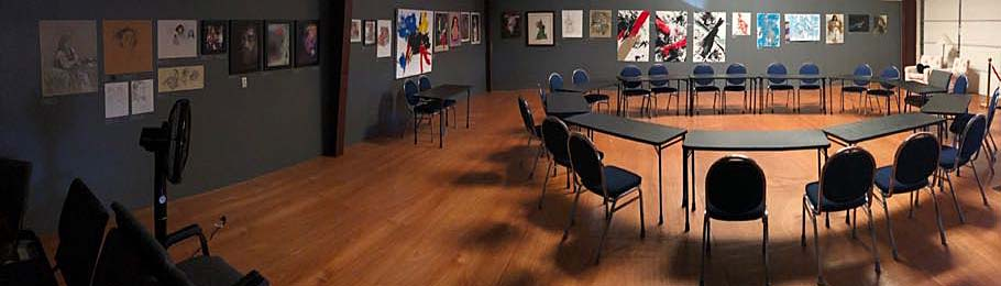 After the show, the room is used by Shakespeare reading groups that revel in the inspiration on the gallery walls.