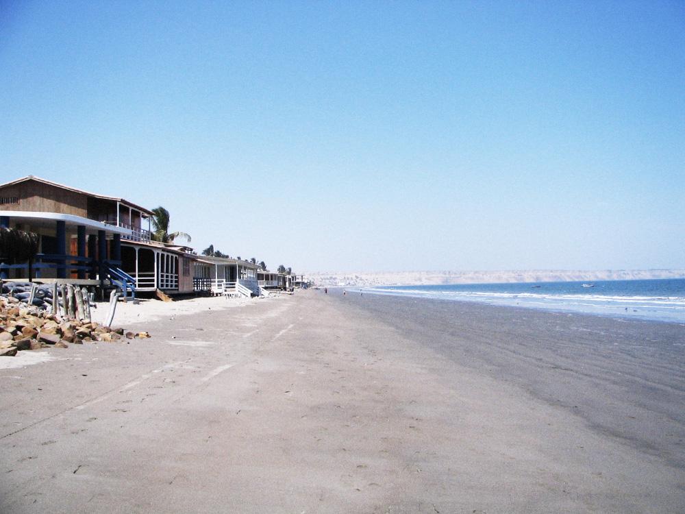 Colán Beach, Peru