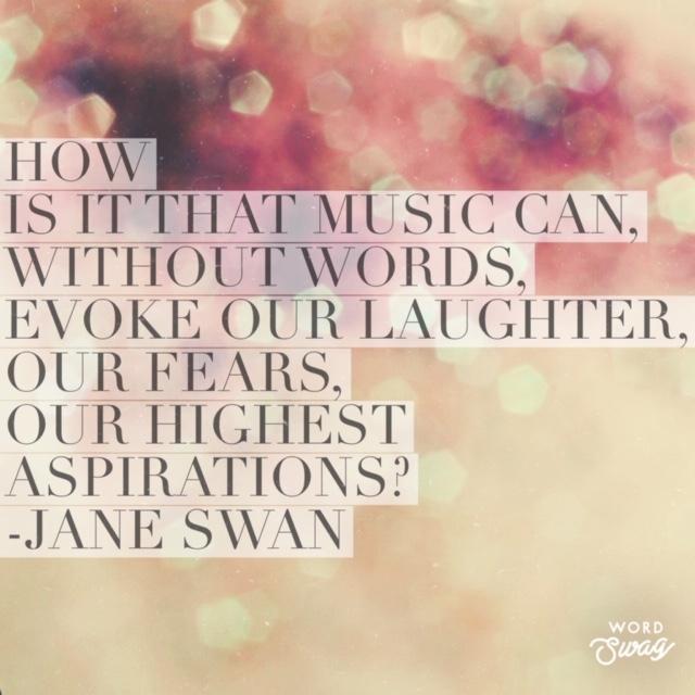 Jane Swan Quote