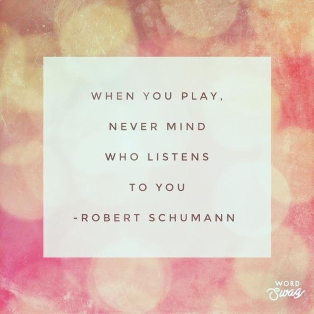 Robert Schumann Quote