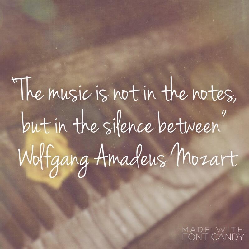 Mozart Quote